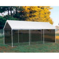 "10'x20' 1-3/8"" 8-Leg Canopy White - Cover w/Screen Kit"