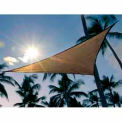12 Feet Triangle ShadeSail - Sand