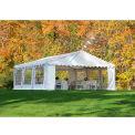 ShelterLogic, 25920, Party Tent & Enclosure Kit 20 ft x 20 ft White