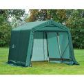 8x8x8 Peak Style Shelter - Green
