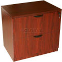 Boss 2-Drawer Lateral File, Mahogany