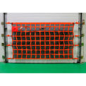 US Netting Loading Dock Door Debris Containment Netting, 4 Feet x 22 Feet, OHDB422