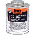 Oatey EP42 CPVC-PVC HD Orange Industrial Cement 32 oz. - Pkg Qty 12