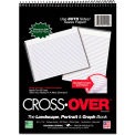 "Roaring Spring® Crossover Notebook 11195, 8-1/2"" x 11-1/2"", 80 Sheets/Pad, 1 Pad/Pack"