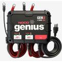 NOCO Genius 20 Amp 2-Bank Waterproof Onboard Battery Charger - GEN2