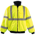 High Visibility Value Bomber Jacket, Hi-Viz Yellow, 3XL