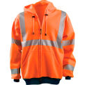 Hi-Vis Premium Wicking Hoodie, Hi-Vis Orange, 4XL