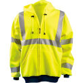 Hi-Visibility Premium Wicking Hoodie, Hi-Viz Yellow, 4XL