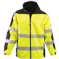 Speed Collection® Premium Breathable Rain Jacket, Hi-Viz Yellow, 5XL