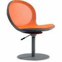 Net Swivel Chair With Gas Lift - Orange - Pkg Qty 2