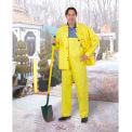 Onguard Cooltex Yellow Jacket W/Hood Snaps, PVC, 2XL