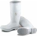 "Onguard Men's Boot, 14"" White Plain Toe W/Safety Lock, PVC, Size 10"
