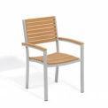 Oxford Garden® Travira Outdoor Armchair - Tekwood Natural (2 pk)