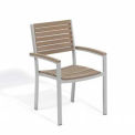 Oxford Garden® Travira Outdoor Armchair - Tekwood Vintage (2 pk)