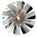 "Packard 10 Blade Small Aluminum Blade - 1/4"" Bore 3 1/2"" Diameter"