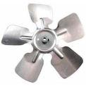 """6"""" Small Aluminum Fan Blade W/ Hub - 1/4"""" Bore Cw - Min Qty 6"""