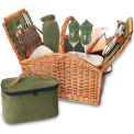Picnic Time Somerset Willow Picnic Basket