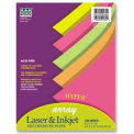 """Pacon® Array Hyper Colored Bond Paper, 8-1/2"""" x 11"""", 24 lb, Assorted, 500 Sheets/Ream"""