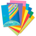 """Pacon® Array Heavyweight Card Stock Paper, 8-1/2"""" x 11"""", 65 lb, Assorted, 100 Sheets/Pack"""
