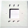 "PECO Wall Plate 73217,  4-11/16"" X 4-11/16"" For T170 Series, Package of 10"