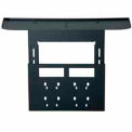 Video Conferencing Shelf For Flat Panel TV Cart