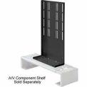 VCR/DVD Bracket For Flat Panel Mounts Fits For VESA Mounts - Black