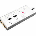 Energy Smart Surge Protector With Noise Filter, 8 Outlets, 1 Pk