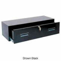 "Storage Drawer Cabinet, 9"" Deep Drawer, Modular, Black"