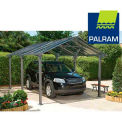"Palram Carport Patio Cover Kit HG9110, VanGuard 5000 Series, 16' 6""L X 11' 1""W"