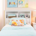 Prepac Manufacturing White Twin Bookcase Headboard
