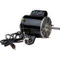 US Motors 1842, Yoke Mount Welded Tab Fan, 1/2 HP, 1-Phase, 1075 RPM Motor