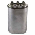 Dual Voltage 370/440 - Oval Run Capacitor - 45+5 Mfd