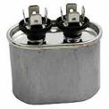Dual Voltage 370/440 - Oval Run Capacitor - 4 Mfd