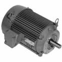 US Motors Unimount® TEFC, 0.5 HP, 3-Phase, 1740 RPM Motor, U12S2ACR