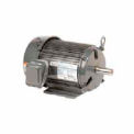 US Motors Unimount® TEFC, 1 HP, 3-Phase, 3505 RPM Motor, U1E1G