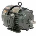 US Motors Hazardous Location, 5 HP, 3-Phase, 1755 RPM Motor, X5P2B