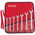 Proto® 7 Piece Full Polish Combination ASD Wrench Set - 12 Point