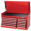 "Proto® 440SS 41"" Top Chest - 12 Drawer, Red, 41""L X 19""H X 18""D"
