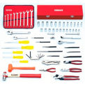 Proto® 67 Piece Metric Starter Set With Tool Box J9975-NA