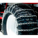 Maxtrac Snow Blower/Garden Tractor Chains, 2 Link- 4/0 Cross Chain(Pair)-1065356