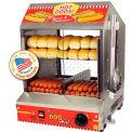 Paragon 8020 Dog Hut™ Hot Dog Steamer And Merchandiser, 175 Hot Dogs/40 Buns 120V