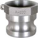 """2"""" Aluminum Camlock Fitting - Male Coupler x FPT Thread"""