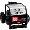 Grip-Rite Portable Air Compressor GR2540LR, Single Tank With Wheels, 2.5HP, 4 Gal