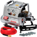 Grip-Rite Finish Nailer & Portable Compressor Combo Kit GRTFK250, 2HP, 2 Gal