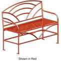 "Breckenridge Metal Frame Bench 48"" Bronze"