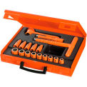 """Facom® 3/8"""" Drive 17 Piece Insulated Socket Set - 12 Point"""
