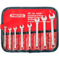Proto® 8 Piece Short Satin Combination Wrench Set - 6 Point
