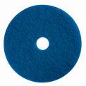 "Boss Cleaning Equipment 19"" Blue Pad - Pkg Qty 5"