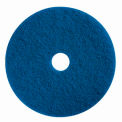 "Boss Cleaning Equipment 22"" Blue Pad - Pkg Qty 5"