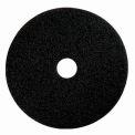 """Boss Cleaning Equipment 22"""" Black-Strip Pad - Pkg Qty 5"""